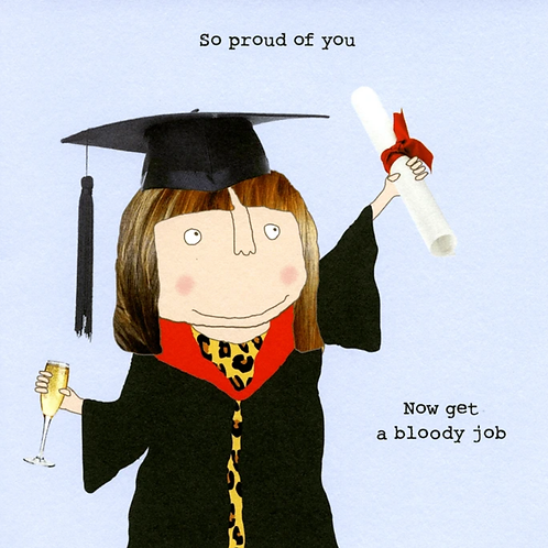 Rosie made a thing - graduation man/woman