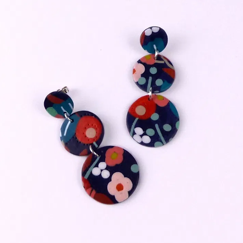 Nadege Honey - Flora Claudia earrings