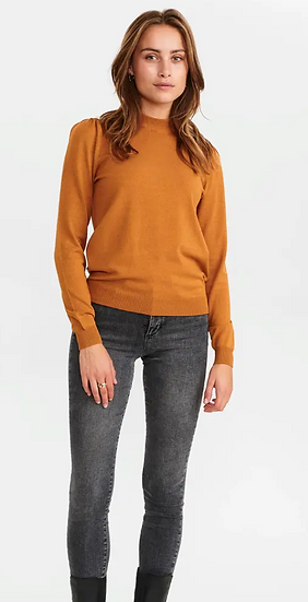 Numph Nubaojin sweater in cathay spice