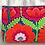 Thumbnail: Aura Que Daya Large make up bag - Kaffe Fassett design