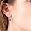 Thumbnail: One & Eight steel raindrop gold earrings
