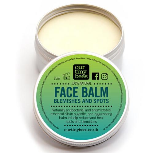Our tiny bees blemish balm