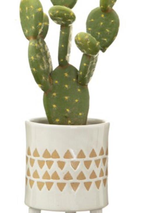 Geometric pattern planter