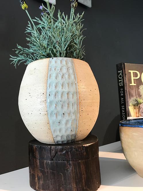 Dmoon ceramics large vase - stone