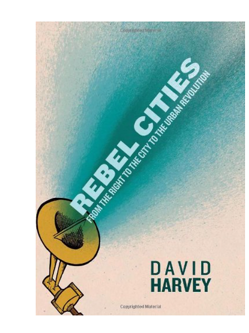 Rebel Cities by David Harvey PB book