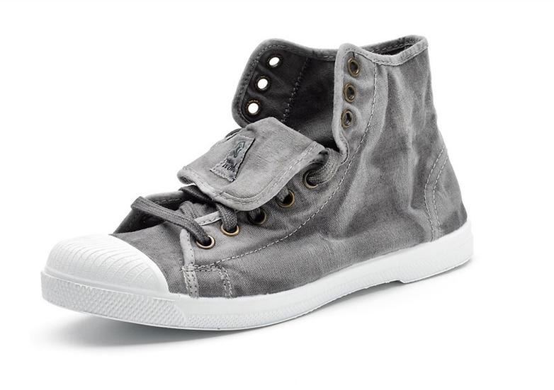 Natural World vegan friendly boots - grey