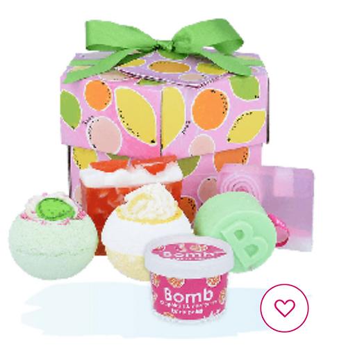Bomb Cosmetics Fruit Basket Hex gift box