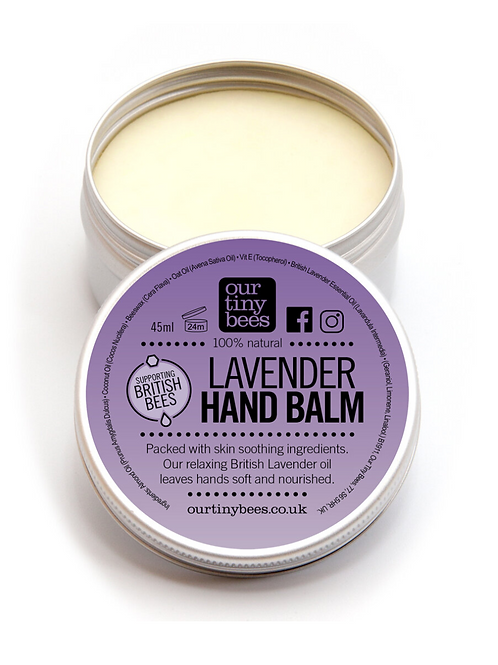 Our tiny bees - Lavender hand balm
