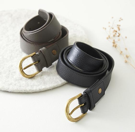 Aura Que Nadi leather belt