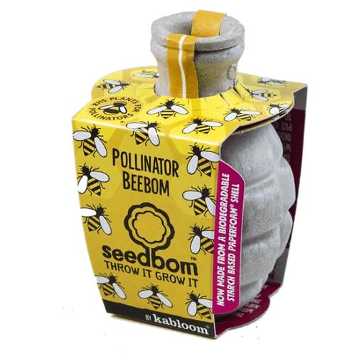 Kabloom seedbom bee pollinator