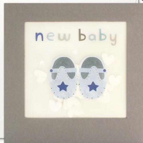 Shakies New Baby boy card
