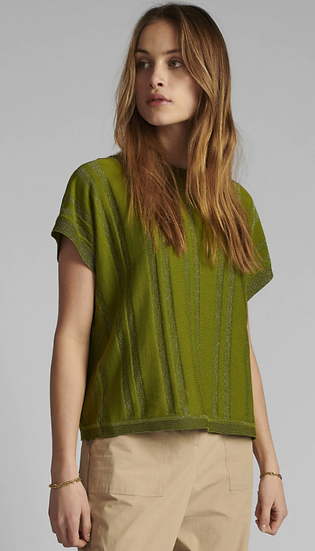 Numph Nudagan top in calla green