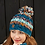 Thumbnail: Pachamama Utrecht bobble beanie hat