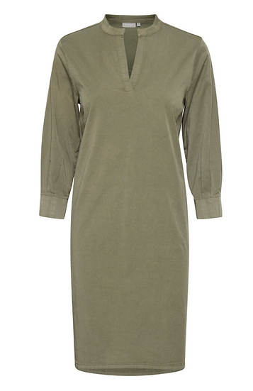 Fransa hedge green tunic dress