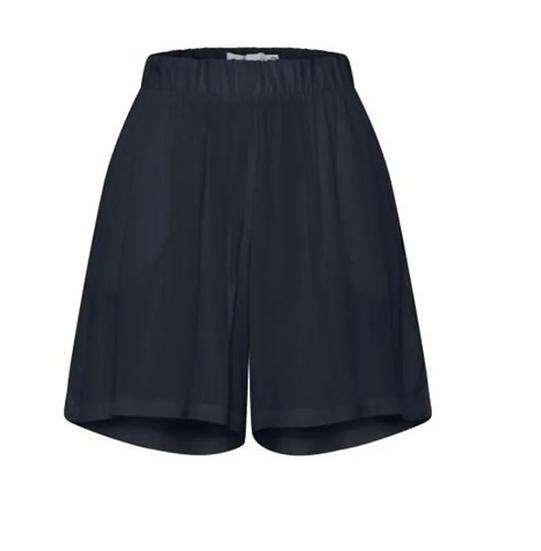 Ichi Marrakech navy shorts