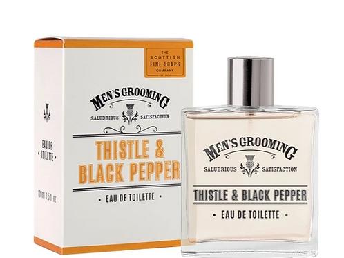 Scottish Fine Soaps Eau de Toilette Thistle & Black Pepper