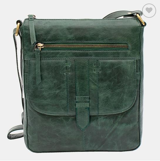Primehide Arizona Crossbody leather handbag - Green
