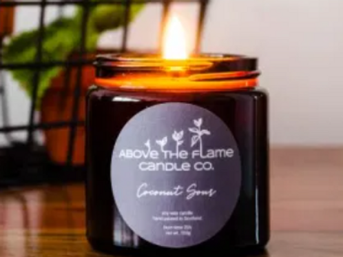 Above the flame candle - Coconut Sour