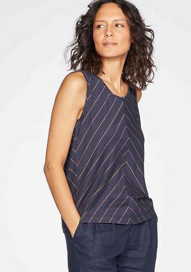 Thought Cecilia Vest top in navy