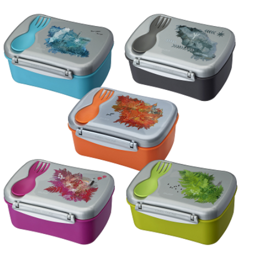 Carl Oscar Wisdom N'ice box - Funky lunch box with cooling lid