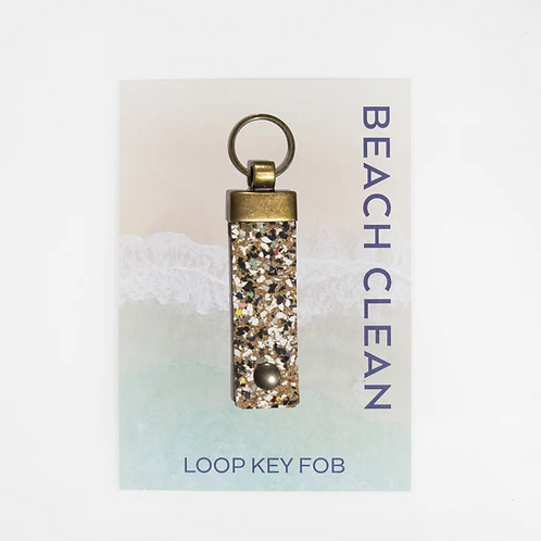 Liga beach clean key fob