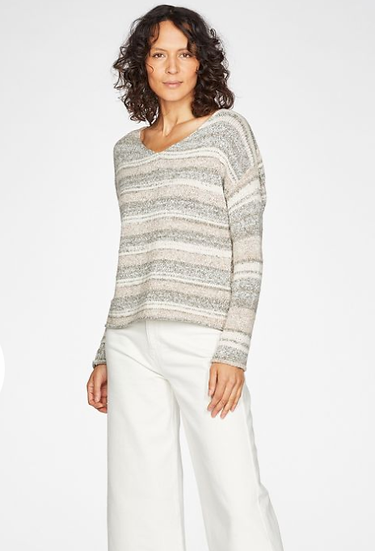 Thought Lena organic cotton tape yarn jumper