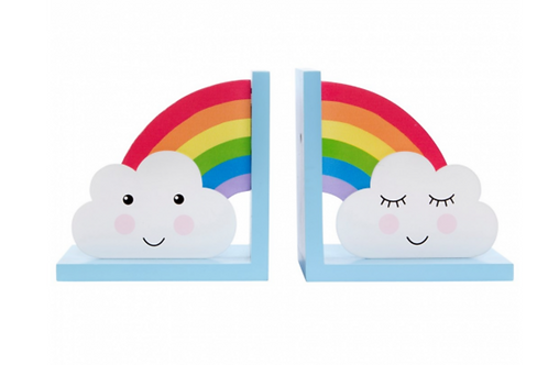 Sass and Belle Rainbow book ends