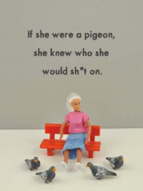 Bold & Bright - pigeon