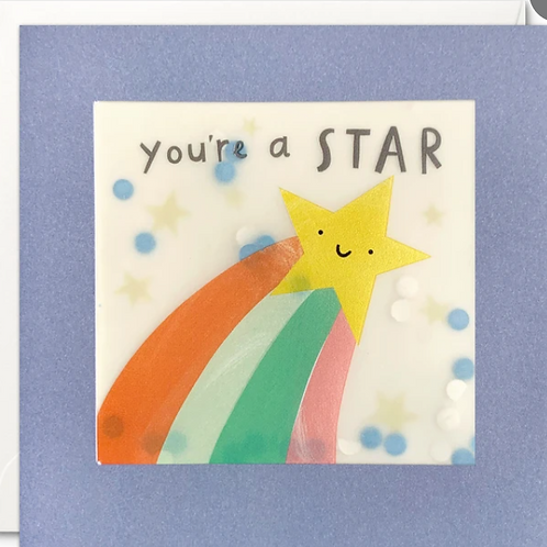 Shakies - You're a star card