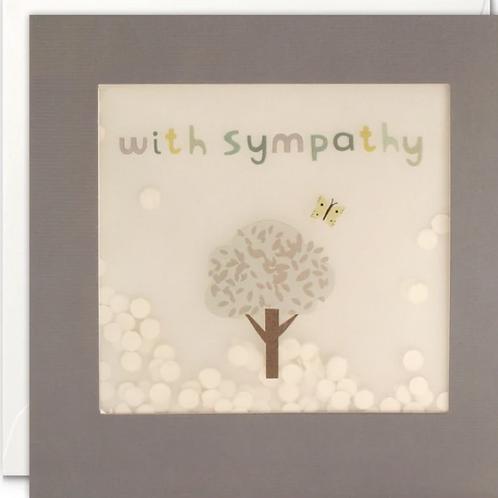 Shakies sympathy card