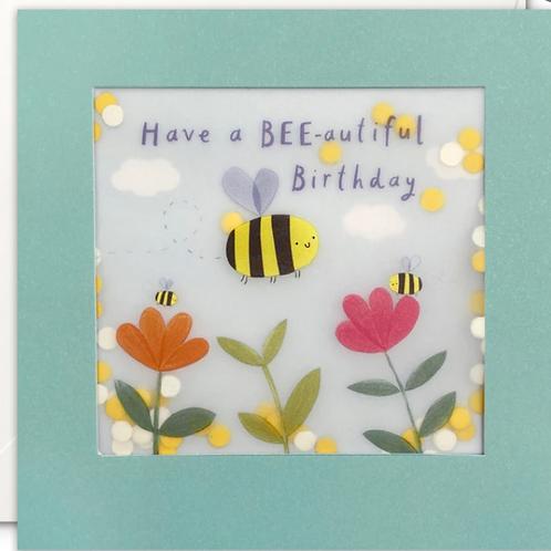 Shakies - bee-eautiful birthday