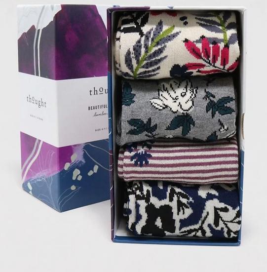 Thought Rasmine 4 pairs sock gift set