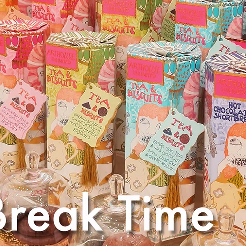 Arthouse unlimited tea and biscuits range