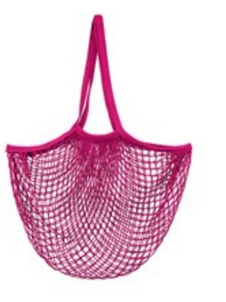 Sass & Belle String turtle bag in hot pink