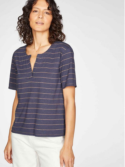 Thought Cecilia tee in navy
