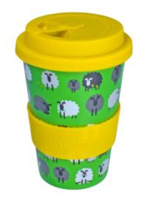 Rice husk sheep cup