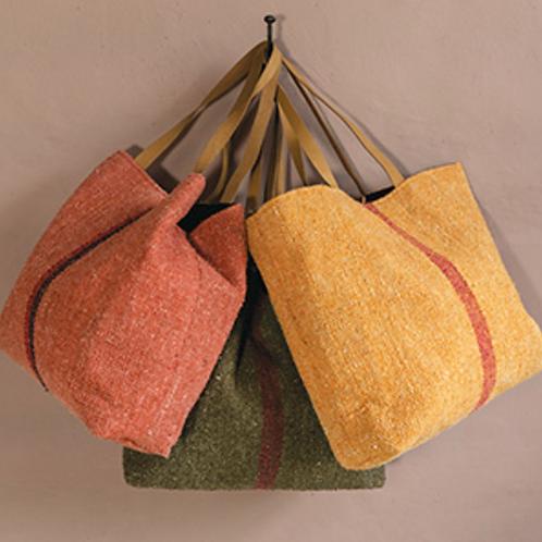 Recycled cotton shoulder bag