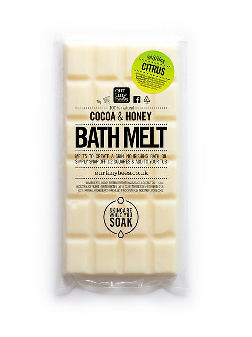 Our tiny bees - Citrus bath melts