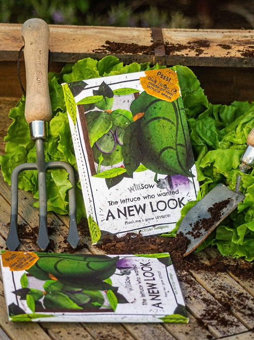 Willsow lettuce seed book