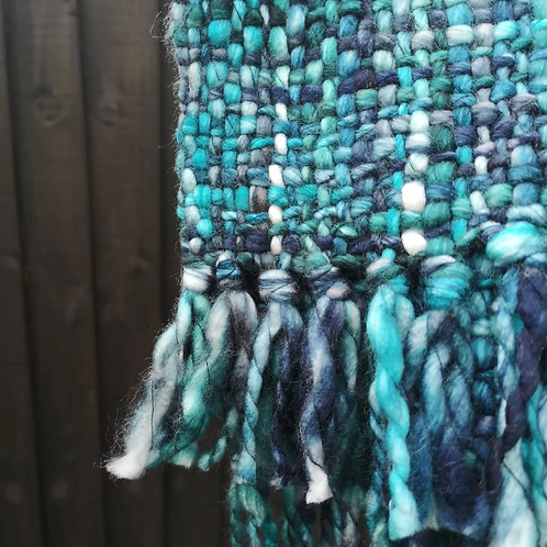 Cool Trade Winds ethically made scarf - Ocean