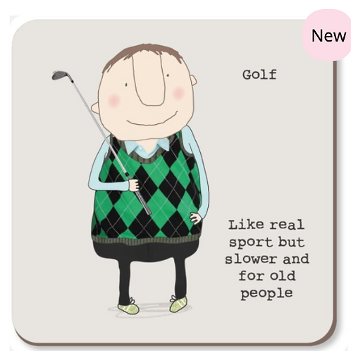 Rosie made a thing golf