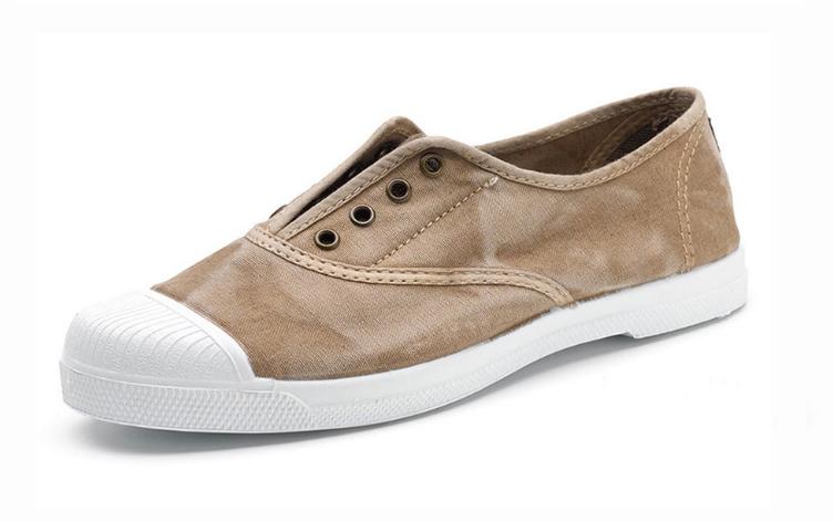 Natural World vegan friendly sneakers - beige