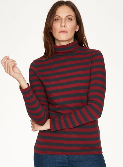Thought Ruby Red Rainer top