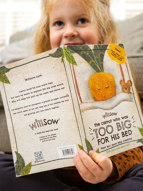 Willsow carrot seed book