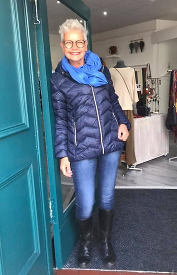 Fransa Padding Thinsulate jacket in dark peacoat
