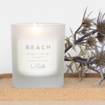 Liga Beach candle