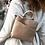 Thumbnail: Taupe vegan friendly rucksack bag