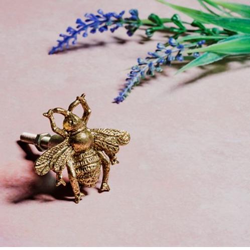 Sass and Belle gold bee door knob
