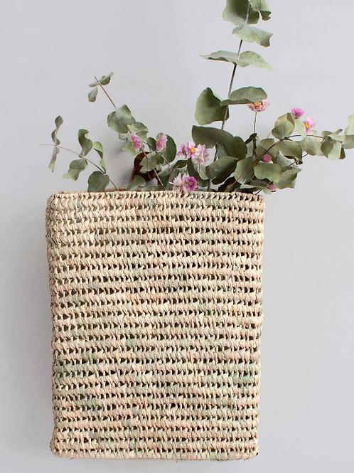 Large rectangular wall basket