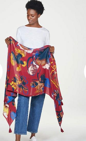 Thought Tabitha wrap shawl scarf